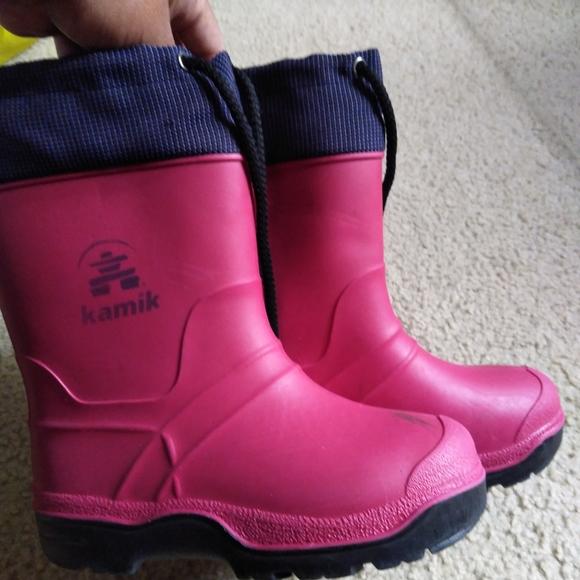 Kamik Shoes | Girls Rain Snow Boots